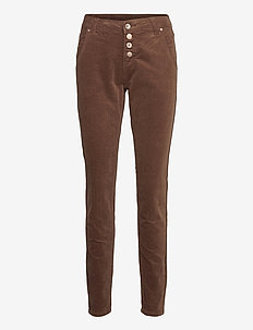 CorryCR Corduroy Jeans - Baiily Fit - straight jeans - carafe