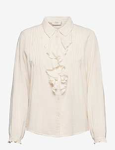 DaliaCR Shirt - langærmede skjorter - birch
