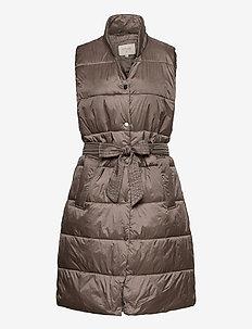 CelinaCR Waistcoat - vestes rembourrées - falcon