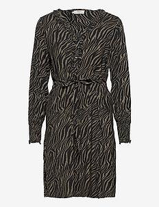 GivinaCR Dress - korte kjoler - sea turtle zebra