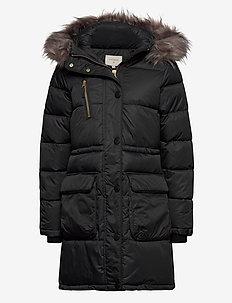 KymmiCR Jacket - parkacoats - pitch black