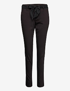 CRCindy Chino Pant BCI - slim fit hosen - pitch black