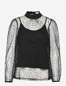 CRBodil Blouse - blouses med lange mouwen - pitch black