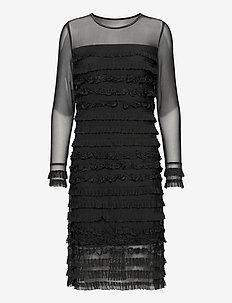 CRMalena Dress - midi jurken - pitch black