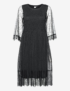 CRBodil Dress - robes midi - pitch black