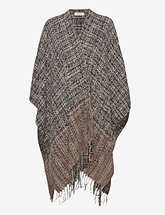 CRFanna Cape - ponchos en capes - brown multi check