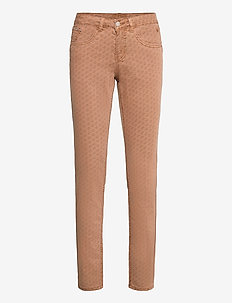 CRLotte Printed Twill Pant - straight jeans - ethnic rawhide