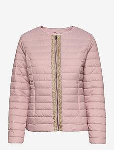 CRGilliana Quilt Jacket - pikowana - burnished lilac