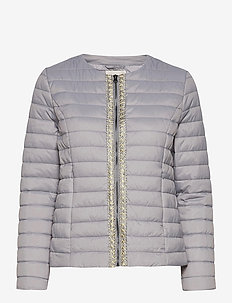CRGilliana Quilt Jacket - quilted jackets - silver sconce