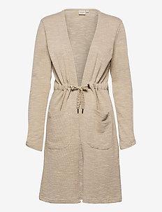 CRNisah Sweat Cardigan - swetry rozpinane - silver mink melange
