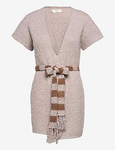 CRSina Knit Vest - stickade västar - burnished lilac
