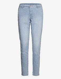 CRElsa Chino Pant - chinosy - blue milkboy stripe