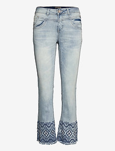 CRAnalis Jeans - Shape Fit - boot cut jeans - soft blue denim