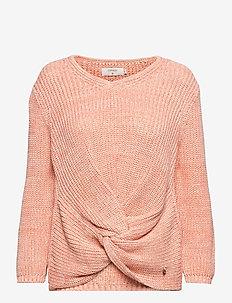 CRAnnolina Knit Pullover - swetry - peach echo melange
