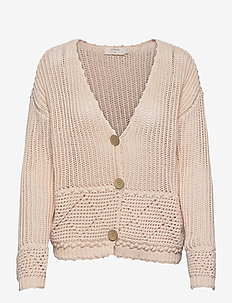 CRCeleste Knit Cardigan - swetry rozpinane - peach dust
