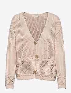 CRCeleste Knit Cardigan - cardigans - peach dust