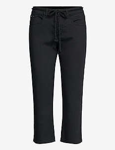 CRVava Pant 3/4 - Coco Fit - straight regular - pitch black