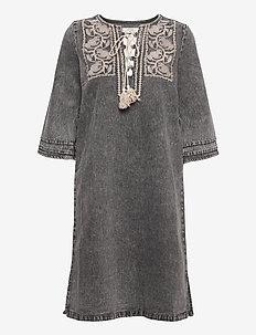 CRLemua kaftan dress - tunikaer - snow grey denim