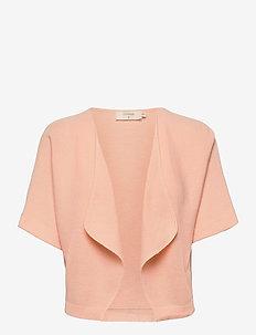 CRSillar Knit Bolero - cardigans - pink sand