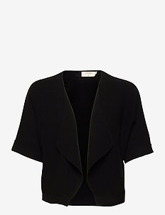 CRSillar Knit Bolero - cardigans - pitch black
