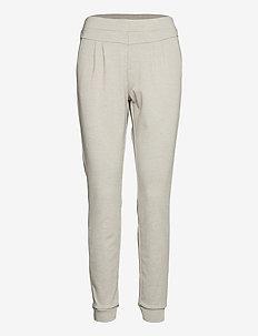 CRAnett Pant - spodnie dresowe - desert sage melange