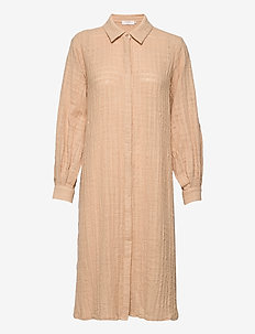 CRKirana Long Shirt - sukienki na codzień - sesame