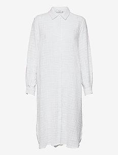 CRKirana Long Shirt - midi dresses - snow white