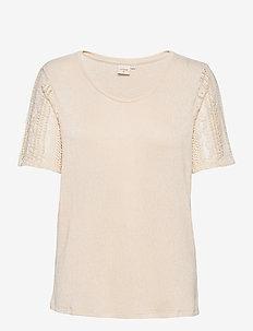 CRMekela T-shirt - t-shirts - birch melange