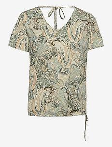 CRLulla T-shirt - t-shirts - desert sage paisley