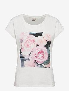 CRBeta T-shirt - t-shirty - snow white flower