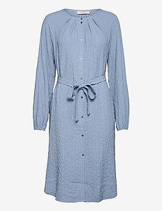 CREnga Shirt Dress - sukienki na codzień - dusty blue