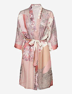 CRDanica Patchwork Kimono - kimonot - pink sand patchwork