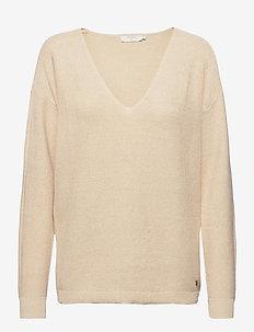 CRSillar Pullover - swetry - sesame melange