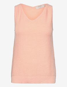 CRSillar Knit Top - kamizelki z dzianiny - pink sand