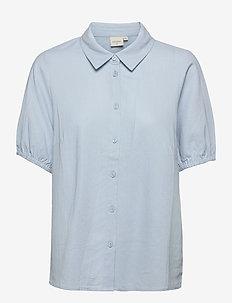 CRVenta SS Shirt - koszule z krótkim rękawem - cashmere blue