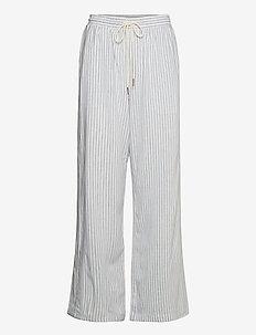 CRVenta Pant - bukser med brede ben - blue stripe
