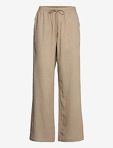 CRVenta Pant - spodnie szerokie - timber wolf