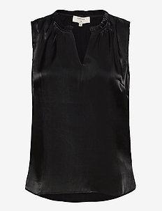 CRCecilie Top - bluzki bez rękawów - pitch black