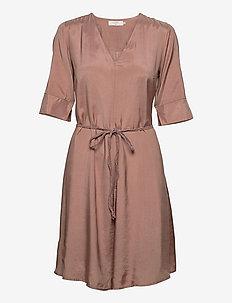 CRJilva dress - vardagsklänningar - rose brown