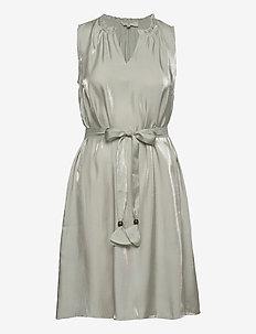 CRCecilie Sleeveless Dress - party dresses - desert sage