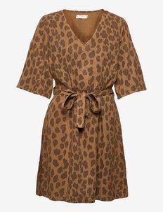 CRHannelore Dress - sommerkjoler - toasted leo