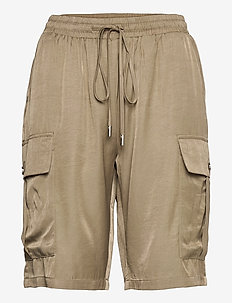 CRAllies Shorts - casual szorty - timber wolf