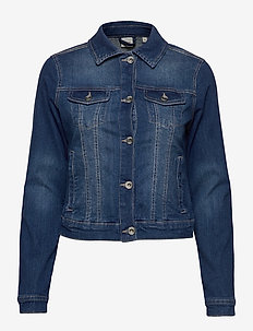 Lisa Denim Jacket - kurtki dżinsowe - rich blue denim