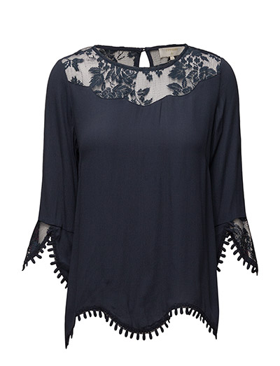 Kalanie Blouse - ROYAL NAVY BLUE