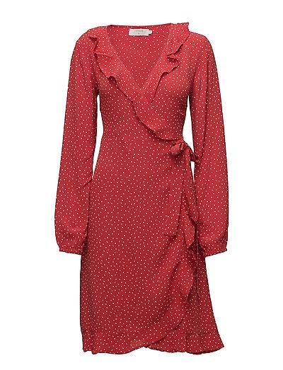 Alison dress - SCARLET ORANGE