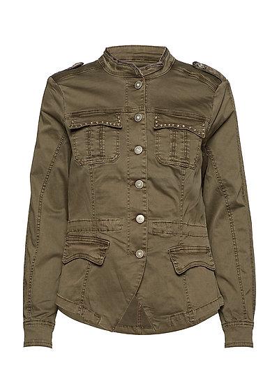 Camilla Cargo jacket - CROCODILE GREEN