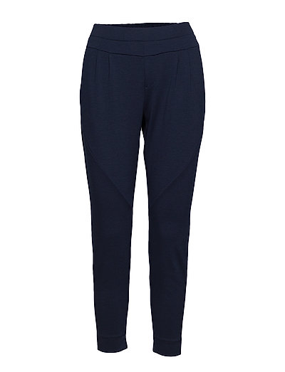 Anett pants 7/8 - ROYAL NAVY BLUE