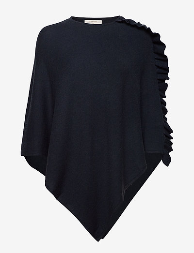 OdetteCR Poncho - ponchos en capes - royal navy blue