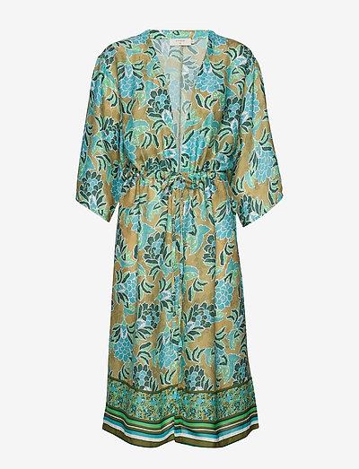 Cream Bahiacr Kimono- Bluzki & Koszule Green Moss