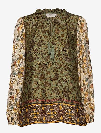 Emmelie CR Blouse - blouses met lange mouwen - paisley flower mix